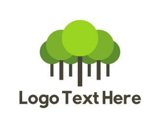 Sustainability - Green Forest logo design