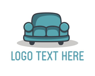 Sofa - Car Couch logo design
