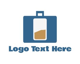 Battery - Bag Battery logo design