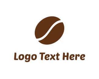 Latte - Coffee Bean  logo design