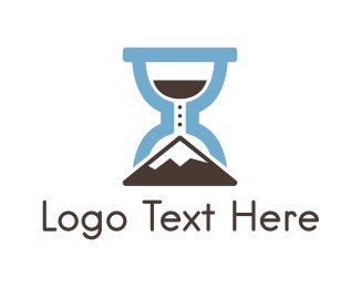 Hike - Climbing Time  logo design
