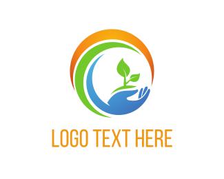 Eco - Eco Circle logo design