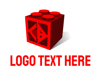 Toy - C & D Cube logo design