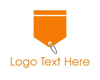 Label - Orange Tag logo design