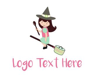 Artisan - The Kitchen Witch logo design