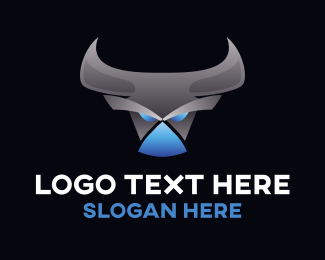 Mythical Creature - Angry Robot Centaur logo design