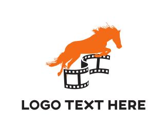 Theater - Horse Film logo design