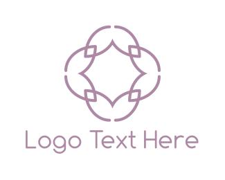 Lilac - Lilac Flower logo design
