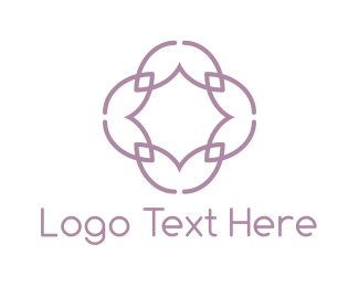 Facebook - Lilac Flower logo design