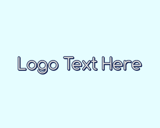Legible - Round Blue Wordmark logo design