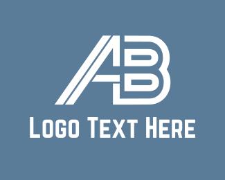 Sportswear - A & B  logo design