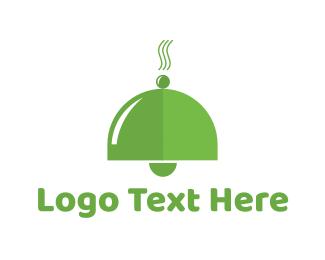 Vegetarian - Organic Food Bell logo design