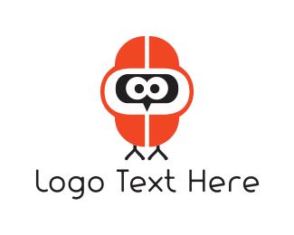 Humor - Bird Hoodie logo design