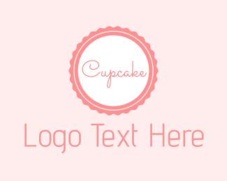 Label - Cupcake Tag logo design