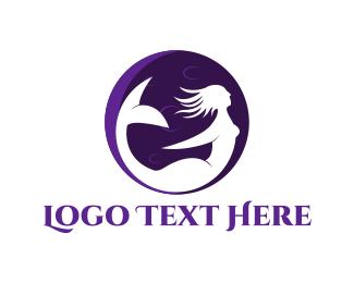 Fairy Tale - Moon Mermaid logo design