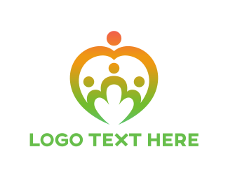 Crowd - Family Group logo design