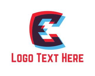 Europe - Letter E logo design