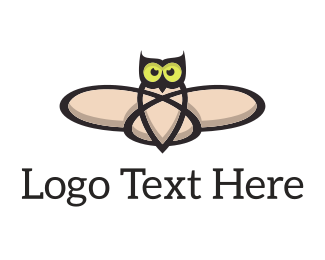 Lab - Atomic Owl logo design