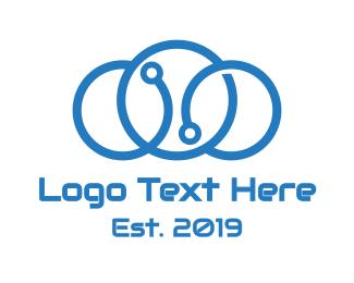 Triple Circle Cloud Logo