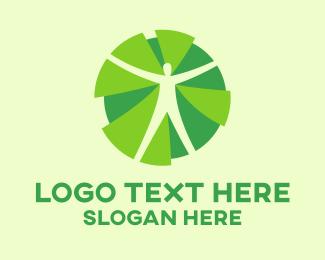 Person - Man Silhouette logo design