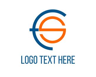 Techno - FS Combination logo design