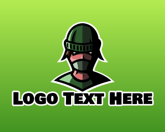 Anonymous - Masked Mascot logo design