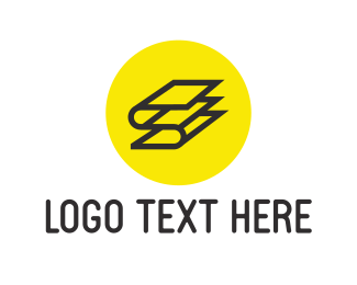 Book - Letter S Book logo design