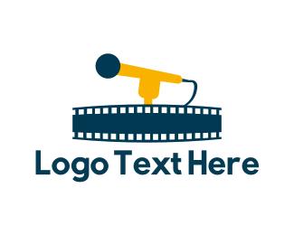 Mic - Musical Film logo design