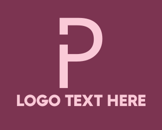 Worker - Power Letter P logo design