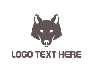 Wise - Wolf Head logo design