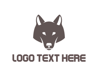Wise - Wolf Head logo design
