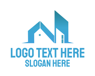Letter N - Building Letter N logo design