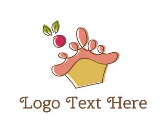 Dream - Cherry Cupcake logo design