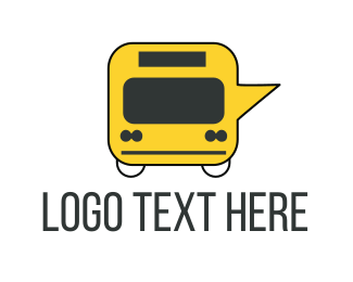 Budget - Message Bus logo design