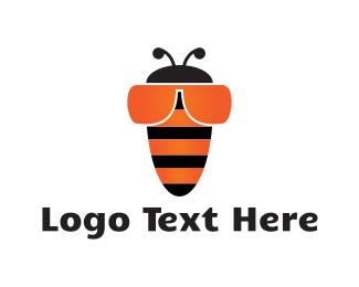 Cool - Bee Goggles logo design