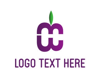 Purple Fruit Logo