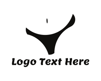 Wax - Black Lingerie logo design