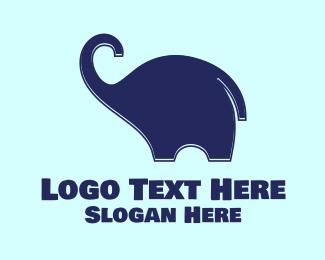 Elephant - Baby Elephant logo design
