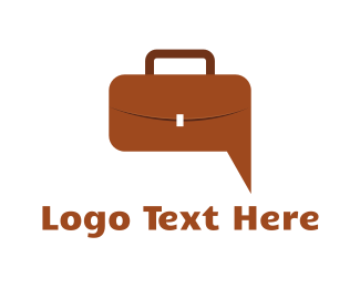 Handbag - Job Chat logo design