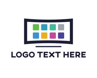 Mobile App - Television App logo design