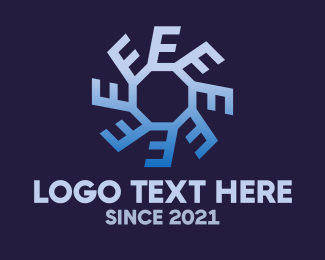 Rotate - Circle Letter E logo design