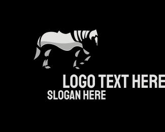 Equine - Iron Horse logo design