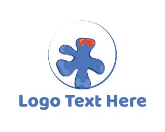Splash - Liquid Monster logo design