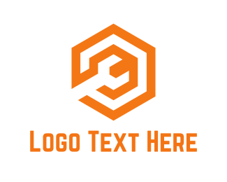 Spanner - Orange Wrench logo design