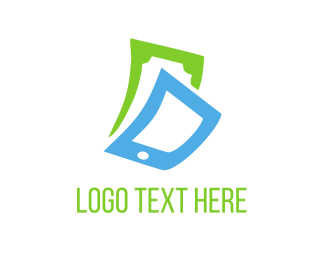 Dollar - Phone & Cash logo design