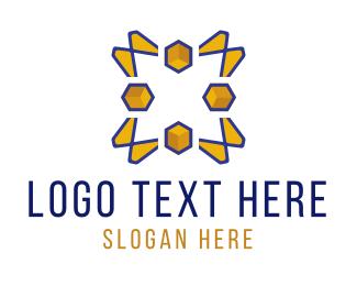 Sunshine - Yellow Peaks logo design