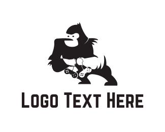 Gorilla - Gorilla Gamer logo design