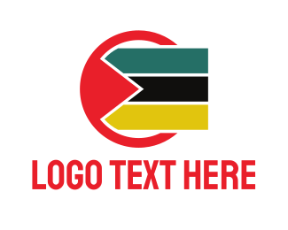 Ethnic - Circle Mozambique logo design