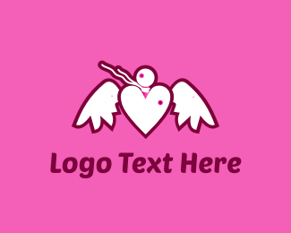 Potion - Love Note Bird logo design