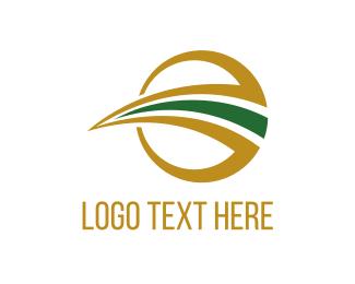 Roadway - Path Circle logo design